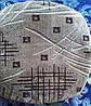Чехлы на табуретки упаковка 4шт + поролон 33х33 №38