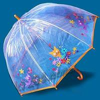 Зонт детский прозрачный трость Zest. ENGLAND