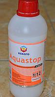 Мелкодесперсионный глубокопроникающий грунтовка-  концентрат 1: 12 Aquastop Expert Eskaro 0,5 л.