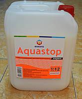 Мелкодесперсионный глубокопроникающий грунтовка-  концентрат 1: 12 Aquastop Expert Eskaro 10 л.