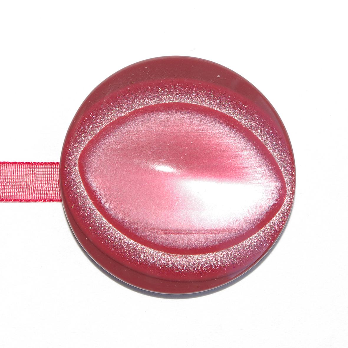 Декоративный магнит подхват на ленте для штор и тюлей К 70