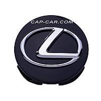 Колпачки заглушки для литых дисков Lexus черный