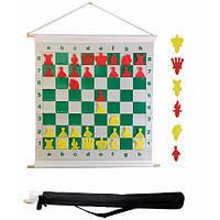 Демонстрационная доска шахматная с фигурами