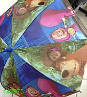 """Зонт детский,трость, для девочек, """"Маша и медведь""""№71. Цена розницы 130 гривен."""