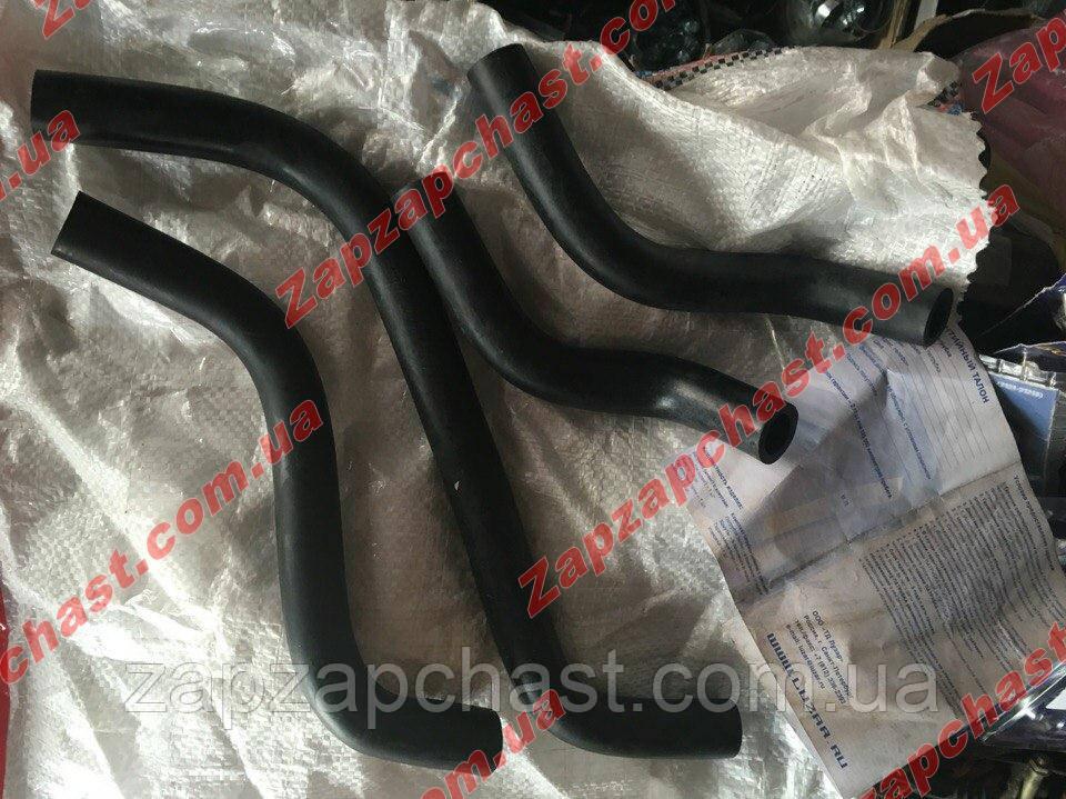 Патрубки пічки (грубки) на ВАЗ 2108 2109 21099 ЛУЗАР 4 шт