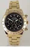 Часы мужские Rolex кварцевые черные