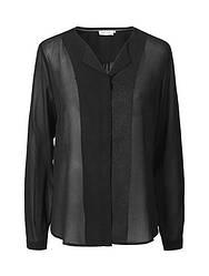 Блуза рубашка черного цвета Candie от Peppercorn (Дания) в размере M