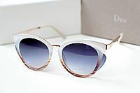 Женские солнцезащитные очки Dior So Famous белые , магазин очков