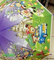 """Зонт детский, трость, """"Мультики"""", цветные. Цена розницы 135 гривен., фото 3"""
