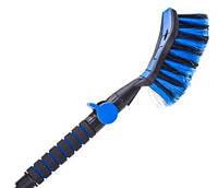 Щетка автомобильная для мойки Tom Par синий цвет