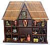 Великолепный домик с миниатюрами! Дерево Германия