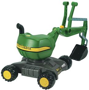 Каталка экскаватор Digger John DeereRolly toys 421022, фото 2