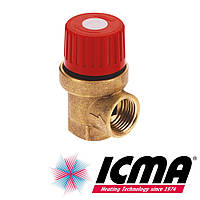 Icma 241 Предохранительный клапан 1/2 - 6 bar