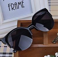 Очки солнцезащитные Кошки чёрные