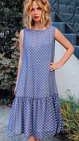 Платье женское в горошек хит-сезона