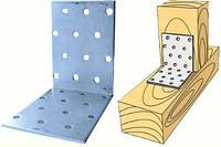 Угол монтажный 40х40х2,0х60 для деревянных конструкций