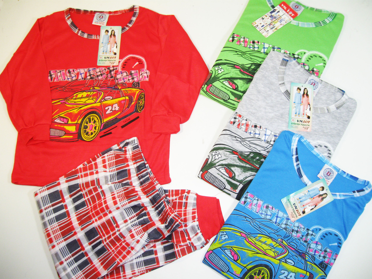 Пижама для мальчика трикотажная, размеры 98/104,110/116,122/128,134/140,  арт. 696