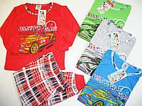Пижама для мальчика трикотажная, размеры 98/104,110/116,122/128,134/140,  арт. 696, фото 1