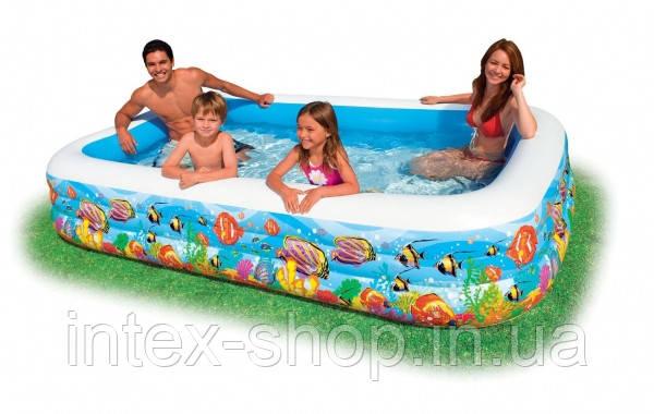 Детский надувной бассейн 58485 (305 m х 183 m х 56 см), фото 2