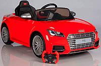 Детский электромобиль AUDI TTS  (красный) Rastar