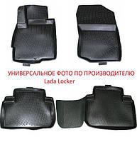 Коврики в салон Audi A4 (07-) (Ауди А4) (4 шт), Lada Locker, фото 1
