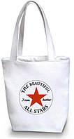 """Женская сумка - """"Звезда"""" Б113 - белая"""