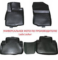 Коврики в салон Chevrolet TrailBlazer II 3ряд сид (12-) (Шевроле Треил Блазер) (2 шт) 3-й ряд сиденье, Lada Locker