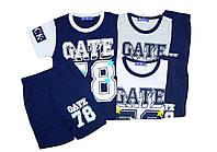 Костюм летний-двойка (футболка, шорты)  для мальчика, F&D, размеры 4-10 лет, арт. 5218
