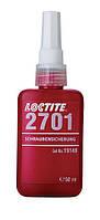 Loctite 2701 (Локтайт2701) (модиф 270) — фиксатор для использования со всеми металлическими резьбами, 50 мл