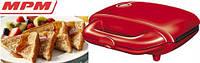 Сэндвичница-бутербродница MPM MOP-14 red