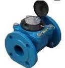 Счетчик воды (водомер) турбинный, тип MWN, Ду-100,Py16, для холодной воды фланцевый, PoWoGaz-Польша