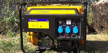 Бензиновий генераторSadko GPS-6500E (5,5 кВт)