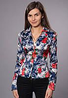 Пиджак женский на подкладке с длинным рукавом, р-р. 42-48