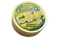 Леденцы Fine Drops Woogie со вкусом лимона, 200 гр