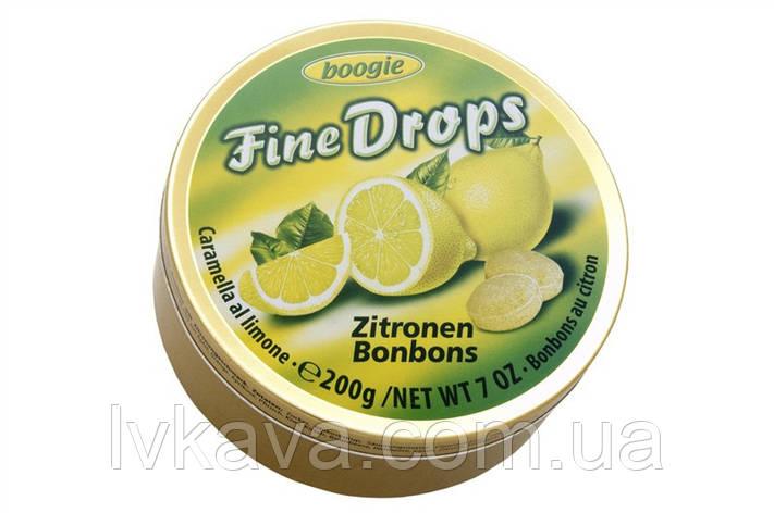 Леденцы Fine Drops Woogie со вкусом лимона, 200 гр, фото 2
