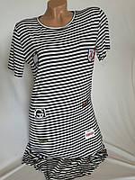 Женское полосатое платье туника оптом в Одессе купить