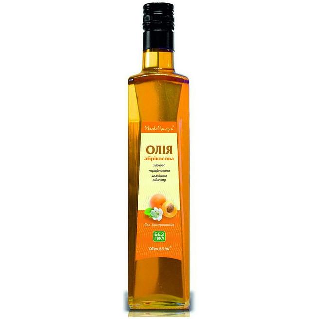 Абрикосовое масло 0,5л.