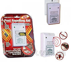 Электронный отпугиватель тараканов грызунов насекомых РИДДЭКС (RIDDEX Pest Repelling Aid)