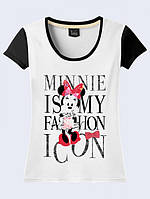 ФУТБОЛКА MINNIE IS FASHION ICON, фото 1