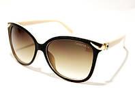 Женские очки солнцезащитные Tiffany 4097 C3 SM 03139, оригинальные очки Tiffany в коричневой оправе