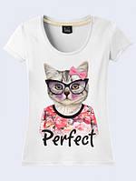 ФУТБОЛКА PERFECT CAT, фото 1