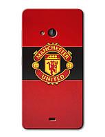 Чехол для Microsoft (Nokia) Lumia 540 (Manchester United)