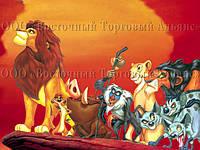 Печать съедобного фото - Формат А4 - Вафельная бумага - Король лев №2