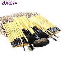 Набор профессиональных кистей для макияжа Zoreya