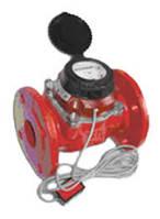 Счетчик воды (водомер) с импульсным выходом, тип MWN, Ду-100, для горячей воды фланцевый, PoWoGaz