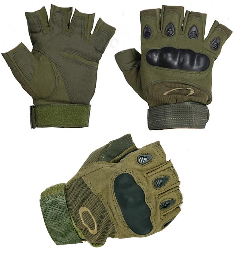 Перчатки OAKLEY (Окли) беспалые.
