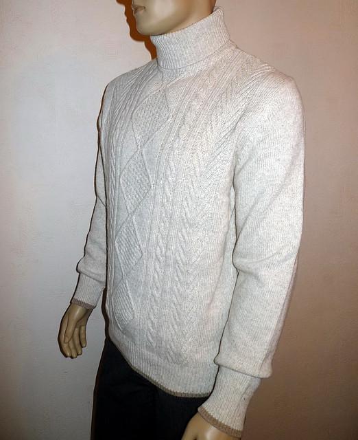Шерстяной свитер с хомутом Navigable