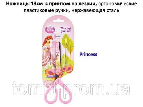 """Ножницы """"Princess"""", 13 см, с рисунком на лезвии, фото 2"""