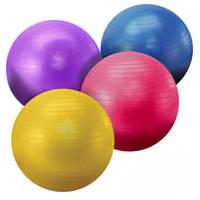 Мяч для фитнеса (фитбол), диаметр 55 см