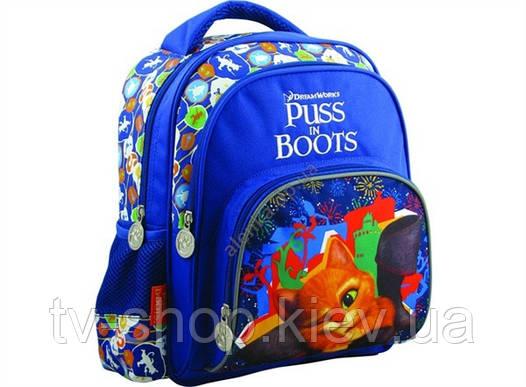 Рюкзак детский Kite Puss in Boots +подвеска